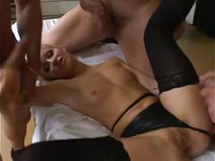 Double anal blondie