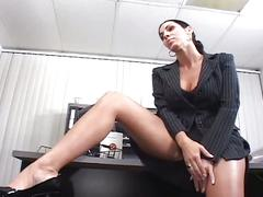 amateur, big ass, big tits, brunette, hardcore, milf, office sex, big natural tits, black hair, boss, busty, cowgirl, doggy style, interview, missionary, nice ass, piledriver, reality, reverse cowgirl, rough fuck