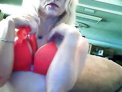 Hot mom's a creamy pussy bate slut