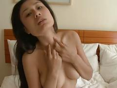 Beautiful asian girl teases and puts on a show! - c4r