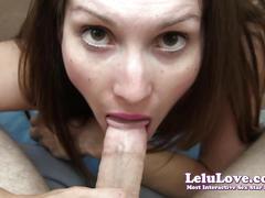Lelu love-secretary suck fuck handjob