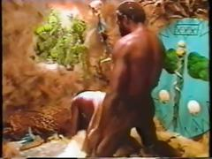 Hot 80's tribal interracial! full movie..