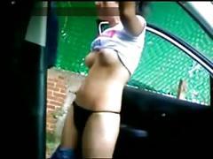 Mexicanos cogiendo en su auto nanci y emilio