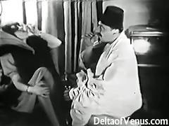 Antique porn - pussy shaving, fisting, fucking!