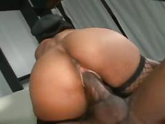 Beauty natural big boobs ebony in hot sex