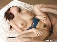 Busty japanese babe fucked hard uncensored