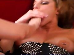 Sexy lesbians toy tasty pussies and suck tits