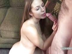 European lina sucking an old dudes stiff cock
