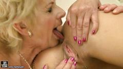 Granny loves hot young girl