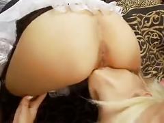 Lesbians group sex