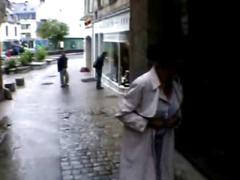 French milf public nudity-part 1