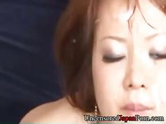 Hinako yoshikawa uncensored japanese bukkake orgy