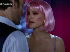 Natalie portman striptease and sex scene  in closer 2004