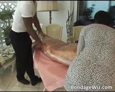 Horny blonde gets her wet pussy fucked