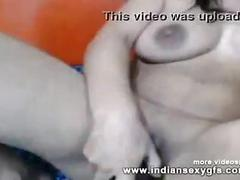 Desi indian girl amrutha private webcam expose her big boobs on live webcam chating