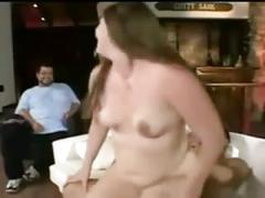 Horny slut fat bbw ex gf fucking her boyfriend's best friend