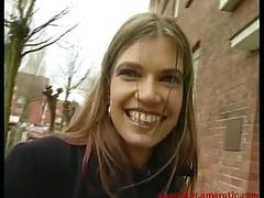 Cute girl from the street fucks a stranger