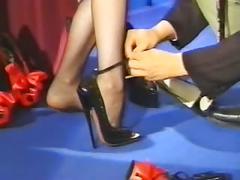 femdom, foot fetish, latex