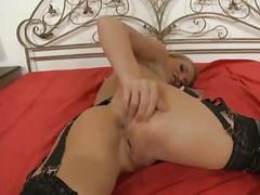 Kinky kathia's anal fun!