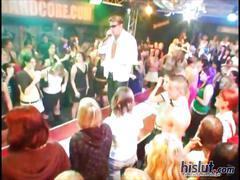 Wild dancing party