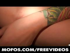 Sexy tattooed french girl loses her anal virginity