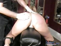 Teri gets spanked