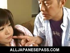 Adorable japanese doll shino nakamura creamed pussy