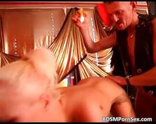 ass, bdsm, blonde, bondage, fetish