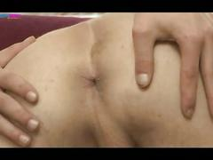 Twinkies in sleazy anal massage before bareback