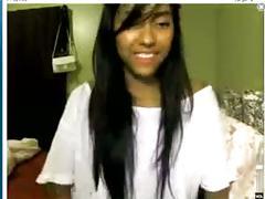 Latin webcam girl