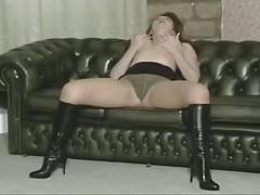 cumshots, stockings