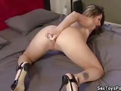 Dildo fucking naughty candy