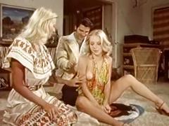 Hot classic porn threesome