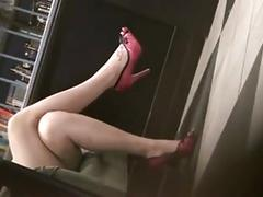 Candid sexy crossed legs 6. hot! (+slow motion)