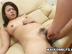 Japan milf mami isoyama hairy pussy