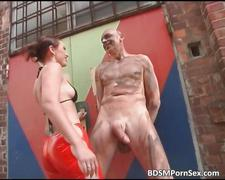 bdsm, bondage, fetish, outdoor, public
