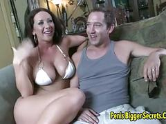 Huge boobs babe get fucked
