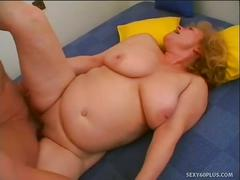 Slutty old daniela seduces a younger cock