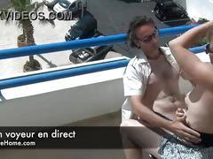 Exhib anal avec un couple francais en cam amateur