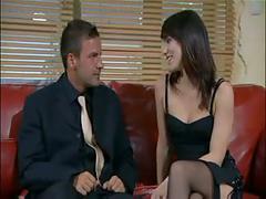 Claudia antonelli threesome black stockings sex