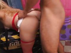 Pov toy play threesome with lots of anal, fingering, and a huge facial