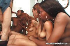 african, black, ebony, gangbang, group, groupsex, hardcore, interracial, party, reality