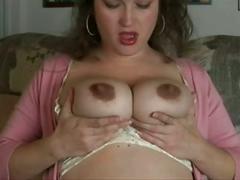 bbw, big boobs, hairy, masturbation