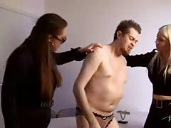 Femdom empire -strip cavity search!