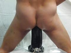 Huge dildos session part ii