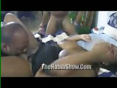 amateur, black and ebony, gangbang