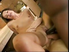 British slut allura gets fucked in a fmm threesome