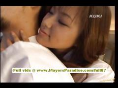 Yua aida lovely asian gets pussy licked and does...
