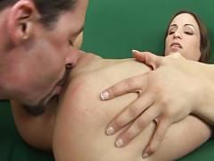 Amber likes the taste of ass
