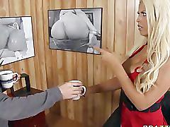 Alfred hugecock's anal psycho bridgette b